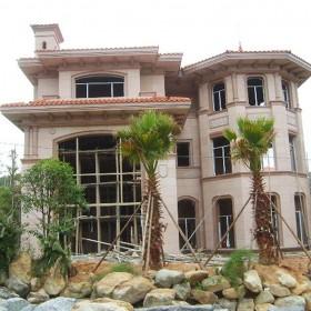 别墅外墙装饰 花岗岩别墅成品供应