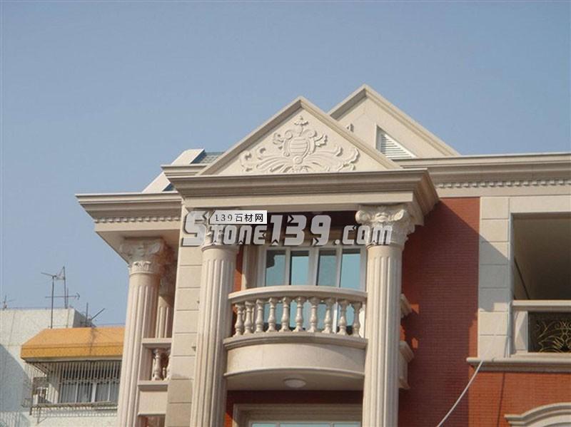 别墅小洋楼阳台柱 别墅罗马柱-- 广茂石业