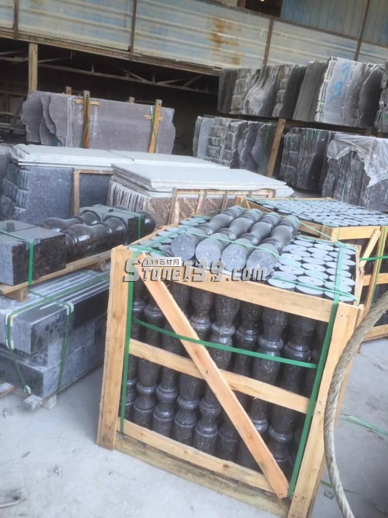 进口石材栏杆 花岗岩栏杆-- 广茂石业
