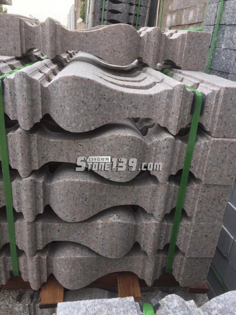 仿型石材栏杆GM-038-- 广茂石业