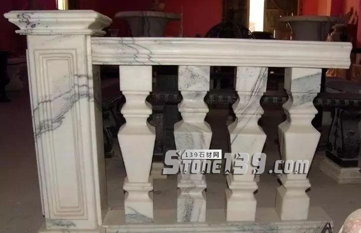 石材栏杆石柱,彰露当代当世修盖修饰的魅力