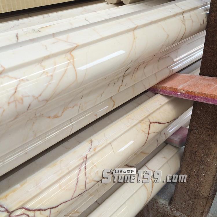 天然大理石索菲特金窗套门套包边框腰线电视背景墙石材装饰石线条-- 赛珂(厦门)建材有限公司