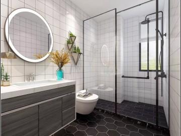 石材新品装饰卫生间的设计
