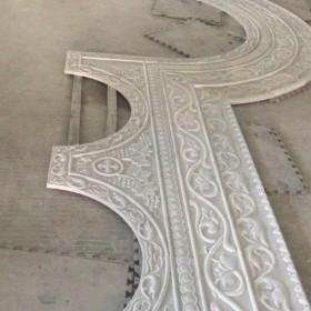 教堂大门石材浮雕