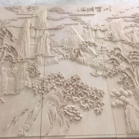 砂岩浮雕 海纳百川