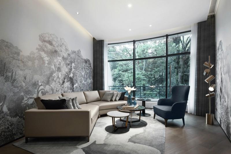 亚马逊天然绿色石材工程案例,让建筑空间更贴近自然