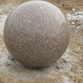 五莲红石球 圆球 挡车球
