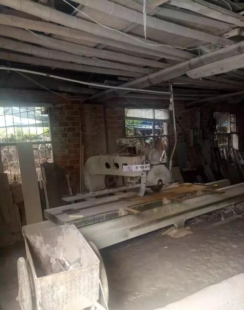 江西鄱阳县人民北路22家大理石加工厂因环保全部搬离
