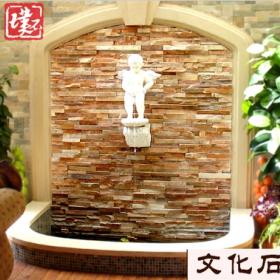 天然石材 文化石背景墙客厅电视墙别墅外墙砖美式立体仿古砖室内
