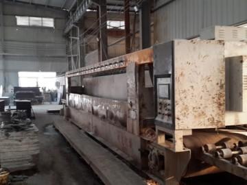 内乡县梨花白石材生产设备和加工车间拍摄