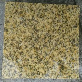 河南黄锈石光面样品 无臭点、无黑斑、多锈点、锈点清晰