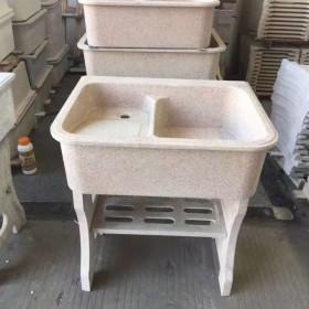石英石(人造石)一体洗衣池批发
