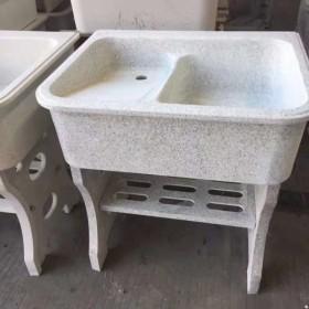 石英石洗衣池 一体洗衣池(单盆 双盆)
