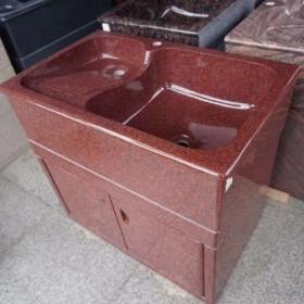 大红色花岗岩洗衣池(印度红) XYC-057