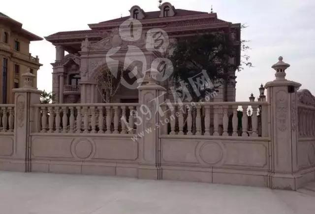 独栋别墅石材外墙装饰