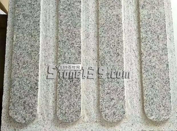 河南芝麻白盲道地铺板 盲人石地铺 点状 条状-- 泌阳县春水丰达石材厂
