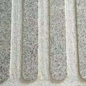 河南芝麻白盲道地铺板 盲人石地铺 点状 条状
