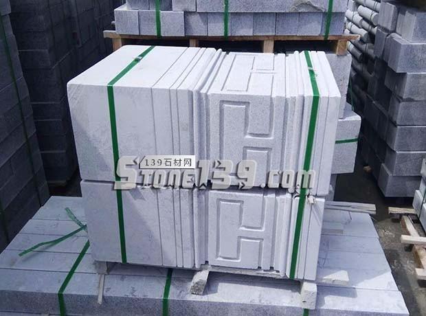 河南泌阳芝麻灰花岗岩异形产品-- 泌阳县春水丰达石材厂