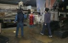 海南海口市美兰区午夜突击执法检查20家石材加工企业