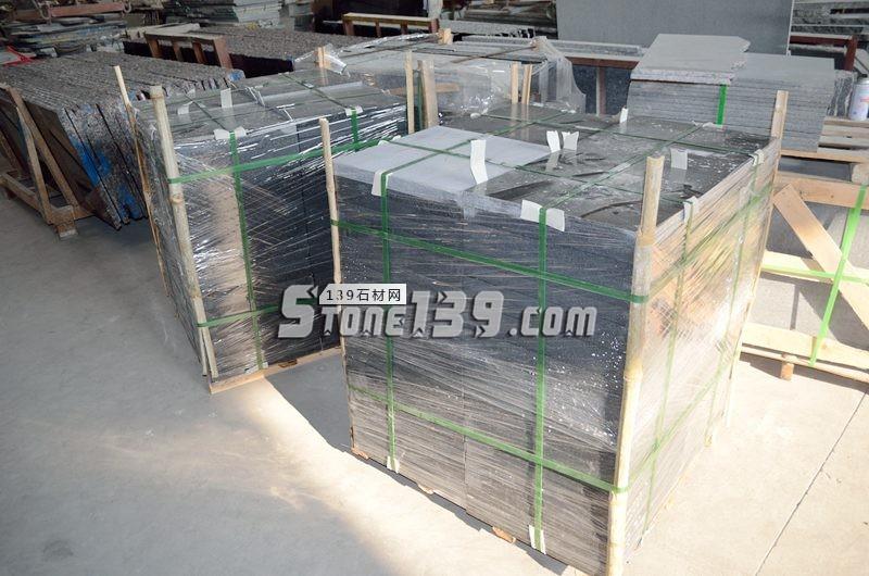 黑金沙花岗岩供应 水头黑金沙成品加工-- 阿俐石材有限公司