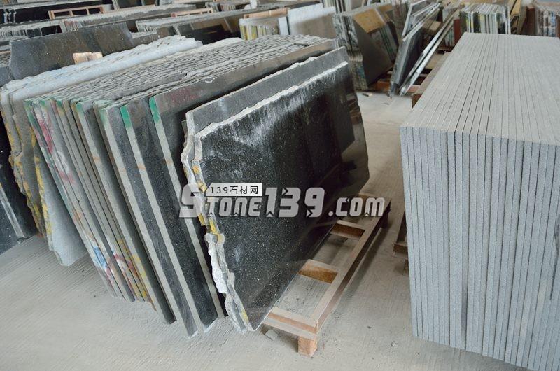 黑金沙花岗岩规格板 成品厚度1.5-3公分-- 阿俐石材有限公司
