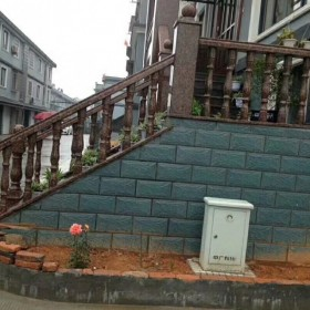 别墅门前的栏杆 台阶护栏楼梯护栏栏杆