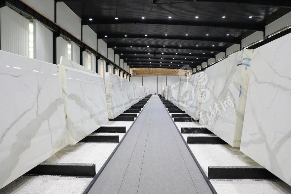 水头白色大理石展厅