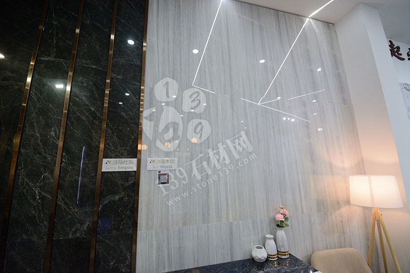 2019年厦门石材展轻奢风格大理石装饰的展馆 南辉大理石