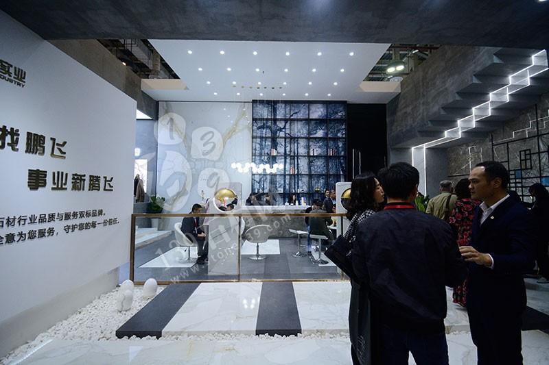 2019年厦门石材展展馆现场