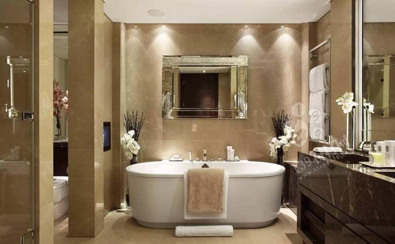 洗浴空间中的石材污染如何清洗?推荐三种解决方案