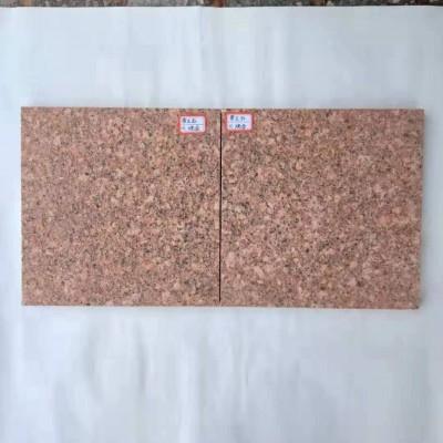 各种尺寸光泽红花岗岩火烧面LH-068