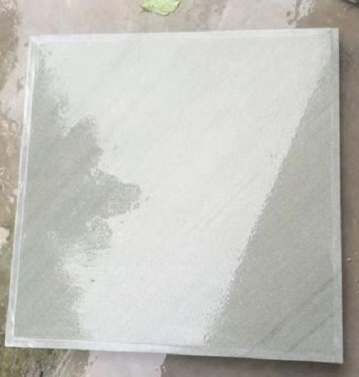 达州青石 正方形墙面 水洗效果