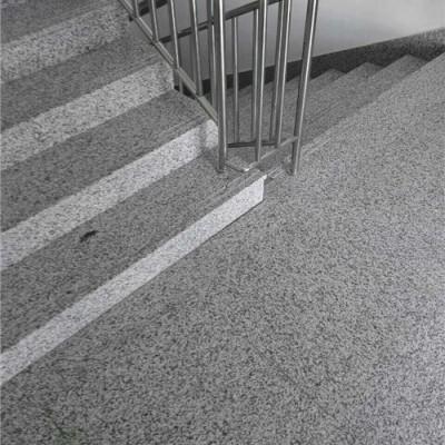 吉林白麻楼梯板 小区地铺楼梯台阶石材