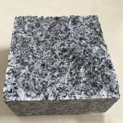 广西芝麻黑花岗岩小方块