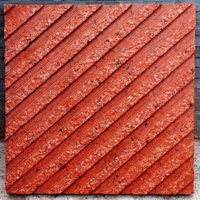 中国红花岗岩机剖面