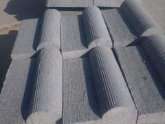 山东花岗岩铺地石 减速带石材 地漏石