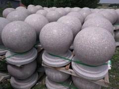 山东石材圆球、圆柱、石鼓