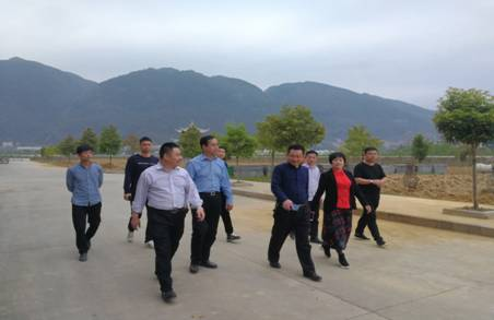贵州巨鼎实业迎思南县县领导考察
