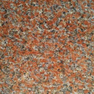 天山红花岗岩磨光板