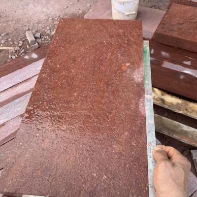 福建寿宁县鸡雪红花岗岩 规格板 出口标准质量