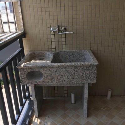 福建虎皮石洗衣池批发 家装原石洗衣池 100年不坏