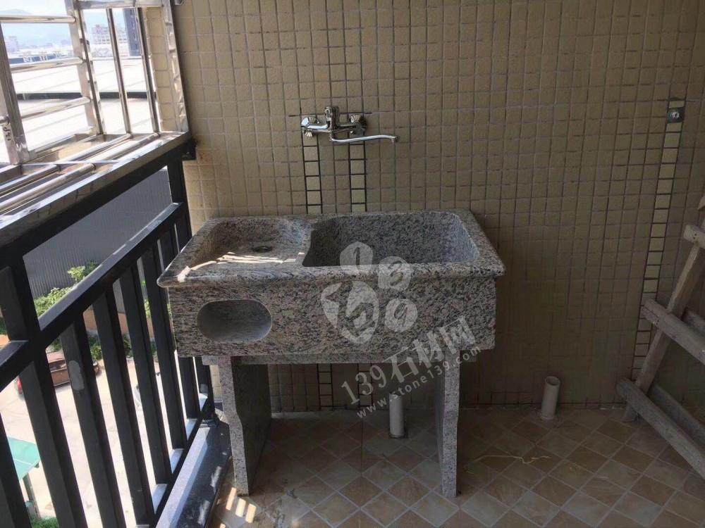 原石一体洗衣池 花岗岩洗衣池