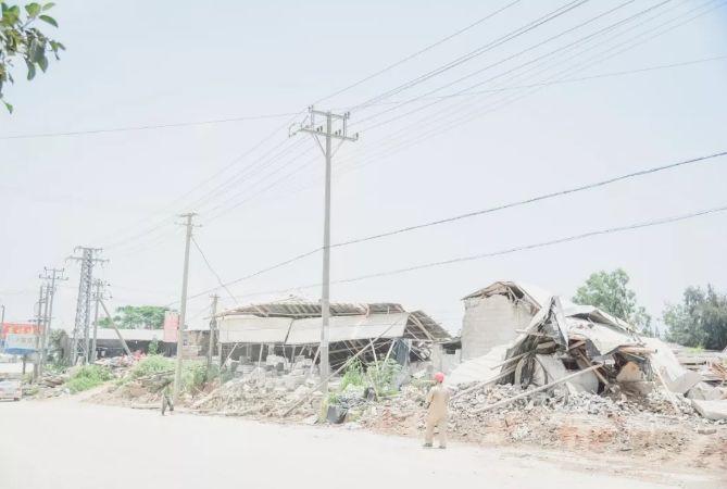 """南安市石井镇""""重拳出击"""":取缔""""三无""""石材加工厂,拆除面积总计1670平方米"""