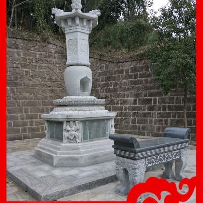寺庙石塔价格 小型石雕佛塔价格 石经幢厂家加工定做