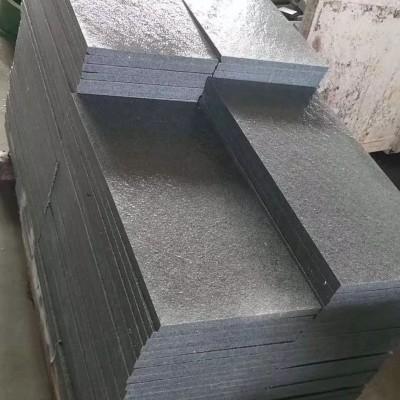 罗田芝麻灰3公分火烧面成品板供应