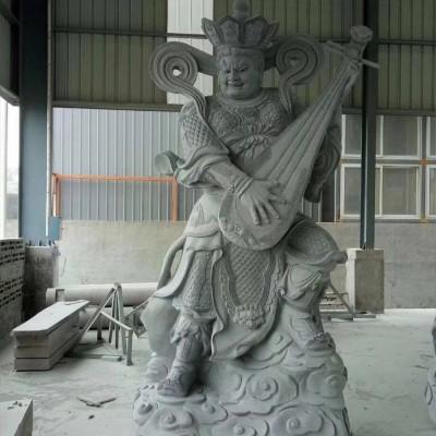 佛教四大天王菩萨石雕像