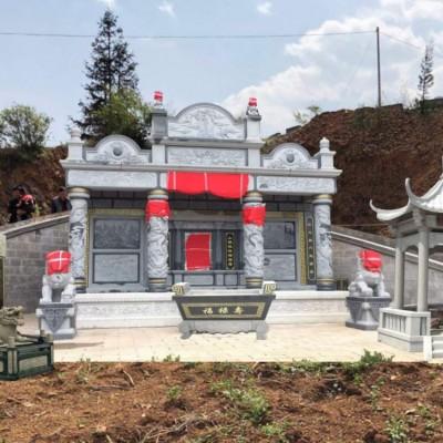 福建大型墓碑石材雕刻 中式墓碑石材产品配套雕刻