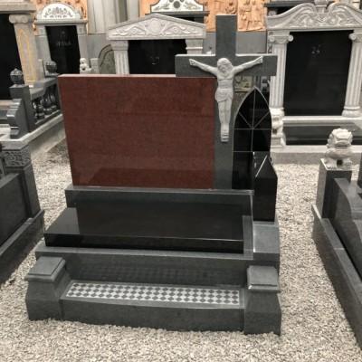 黑色墓碑 红色墓碑 西式墓碑石
