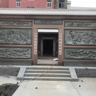 泉州墙面青石浮雕应用 闽南风格石雕