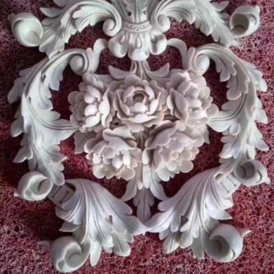 玉石镂空雕花效果 CNC自动雕刻